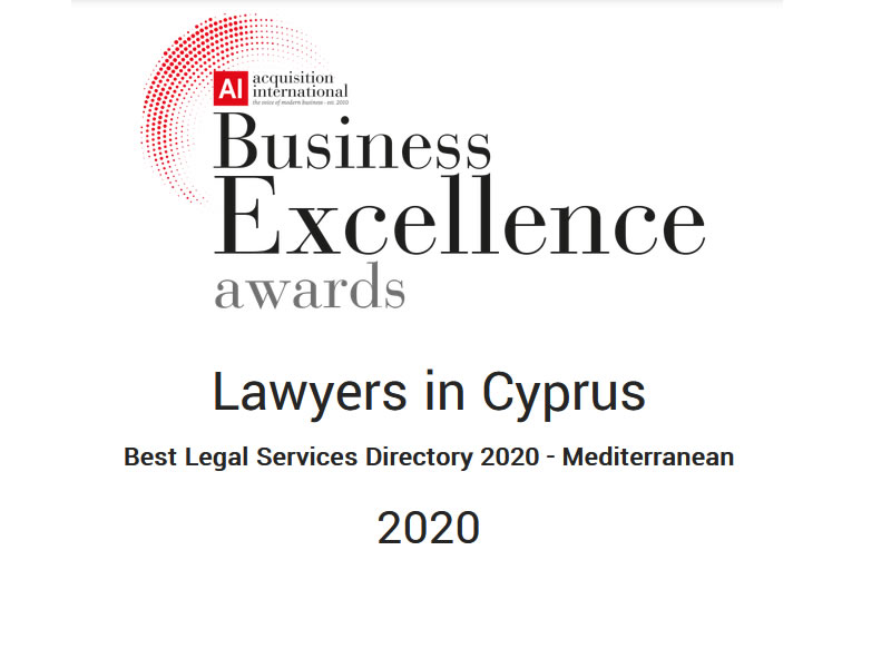 Lawyers in Cyprus - Best Legal Services Directory 2020 – Mediterranean 2020