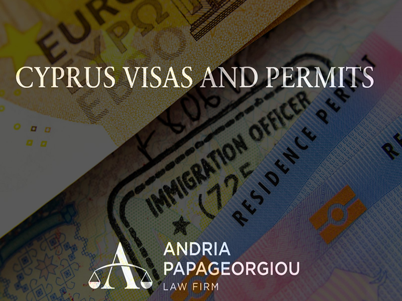 Andria Papageorgiou Law Firm: Cyprus Visas and Permits