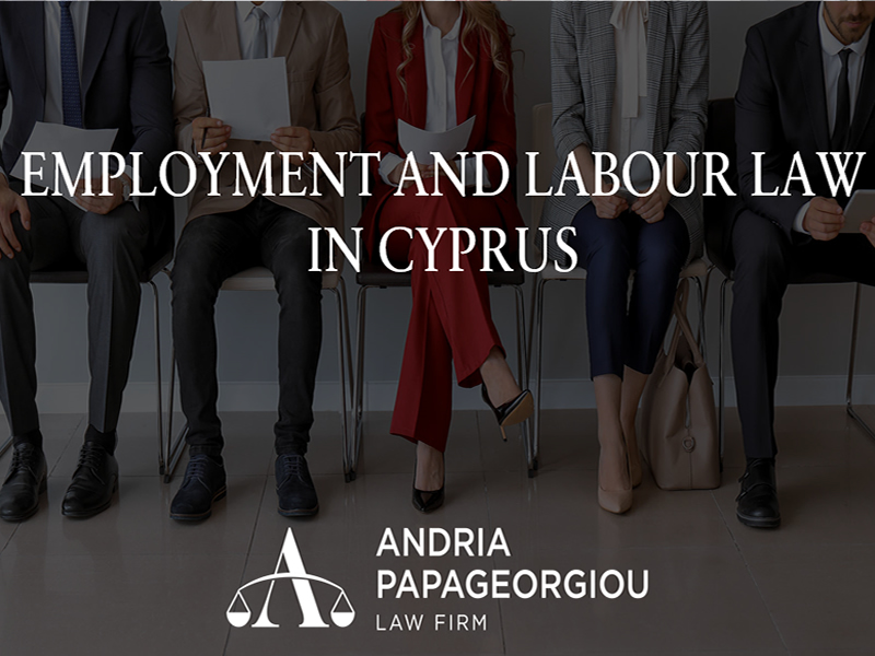 Andria Papageorgiou Law Firm: Employment and Labour Law in Cyprus
