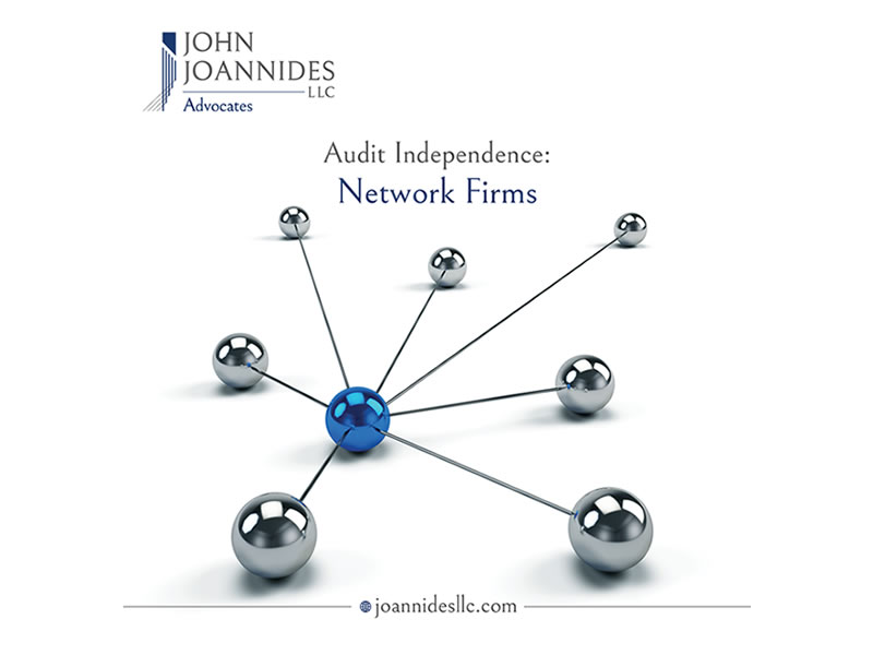 """The Independence of Audits from Fiduciary Services: """"Network"""" Firms"""