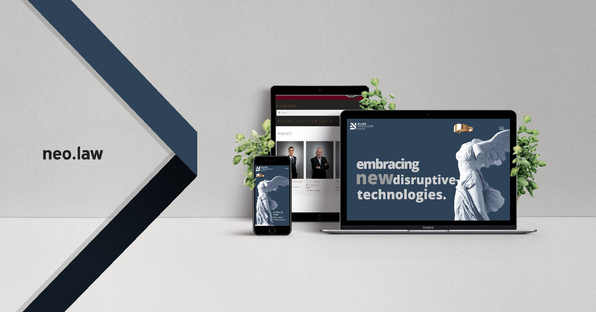Elias Neocleous & Co. LLC Website Announcement