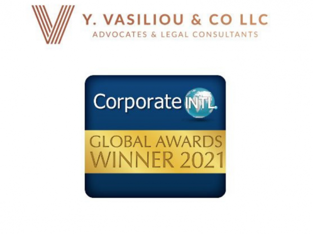 Vasiliou Law - Chosen Winners of the 2021 Corporate INTL Magazine Global Awards