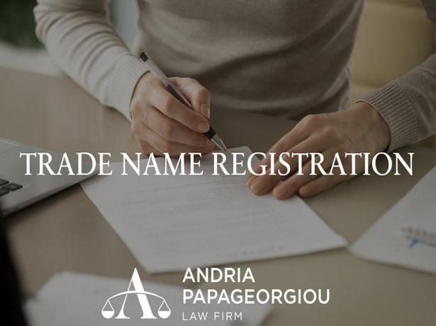 Andria Papageorgiou Law Firm: Trade Name Registration